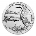 2015 5 oz Silver ATB Bombay Hook National Wildlife Refuge, Delaware