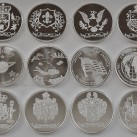 14 ounces HW Minting Company 1 ounce .999 Fine Silver Rounds ~All Designs~