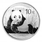 2015 1 ounce Chinese Silver Panda Round in Capsule