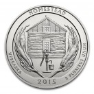 2015 5 oz Silver ATB Homestead National Park, Nebraska